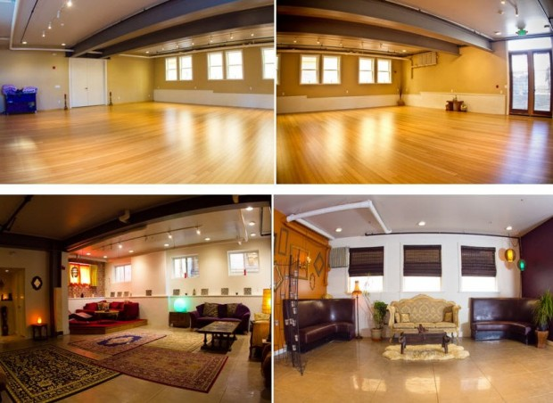 Center SF Bamboo Studio where Kundalini Yoga classes are held.